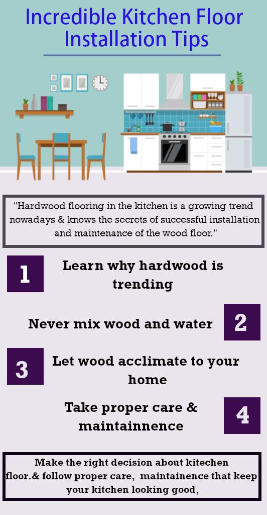 Kitchen Floor Installation Tips