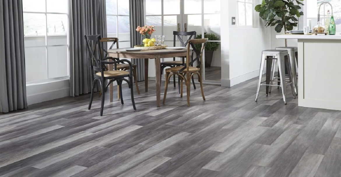 Gray Blends Hardwood Flooring