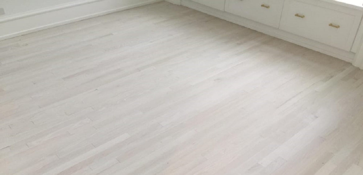 Light Whitewashed Hardwood Floors
