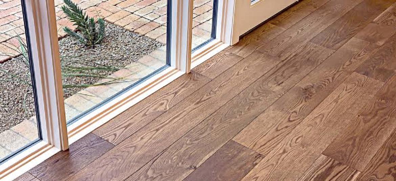Wider Planks hardwood flooring