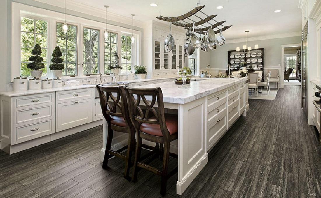 hardwood flooring kitchens