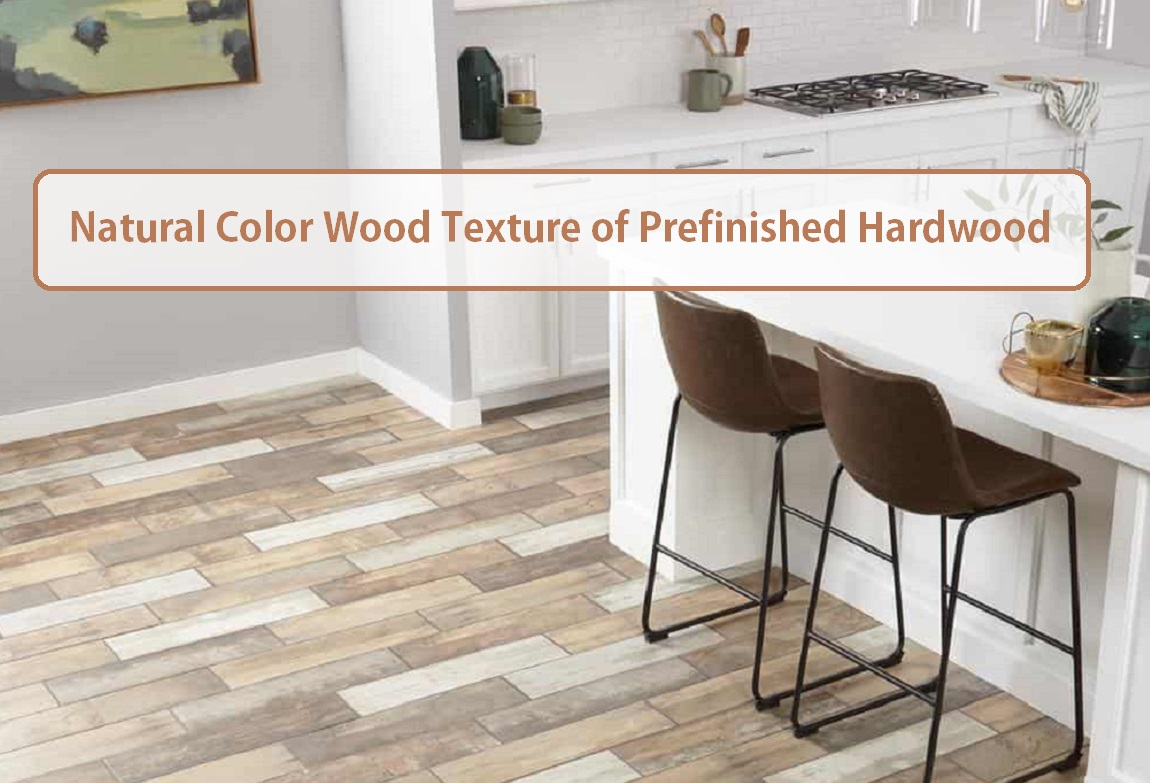Natural Prefinished Hardwood Texture