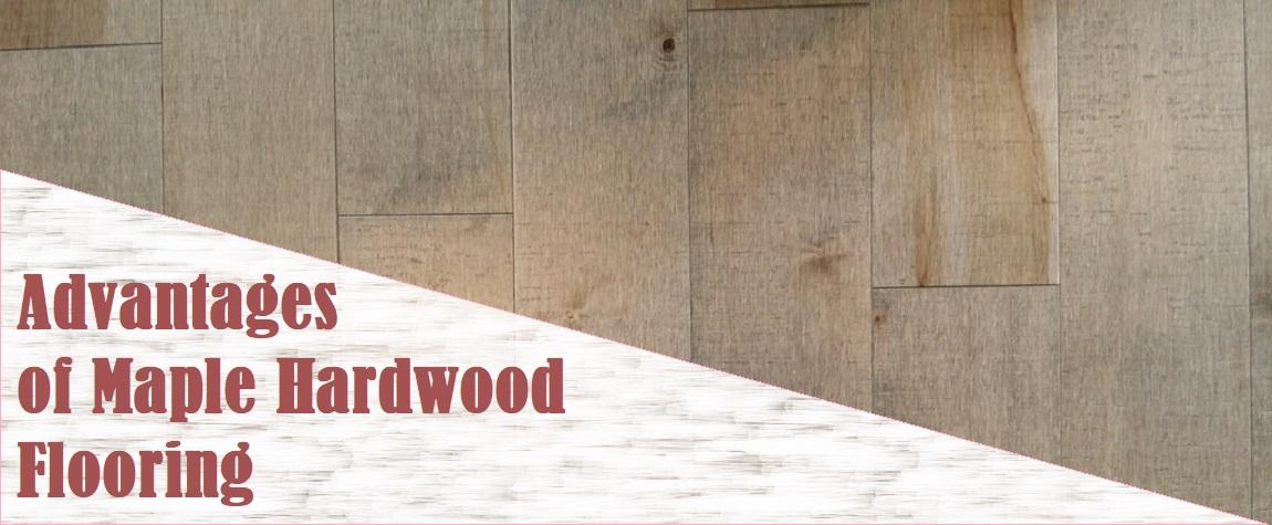 Advantages of Maple Hardwood Flooring