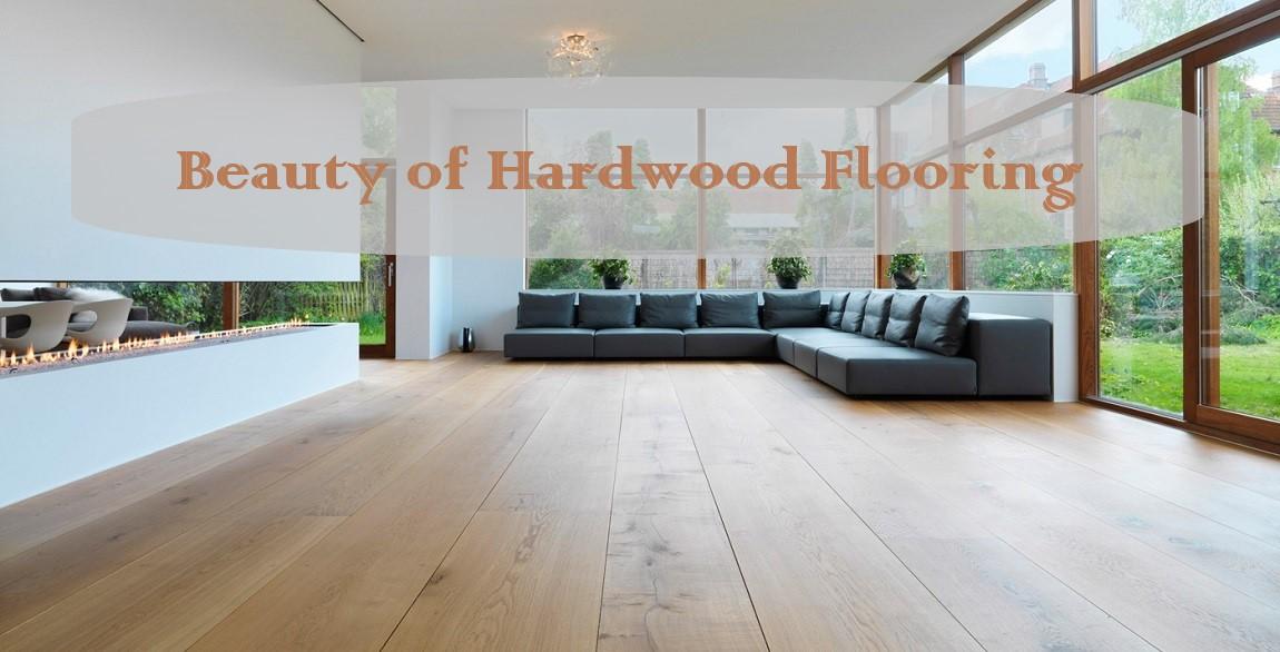 beauty of hardwood flooring