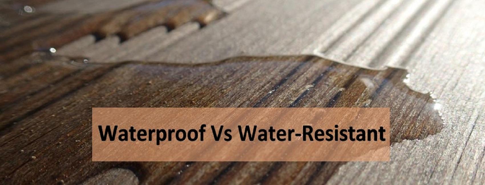 water-resistant wood flooring